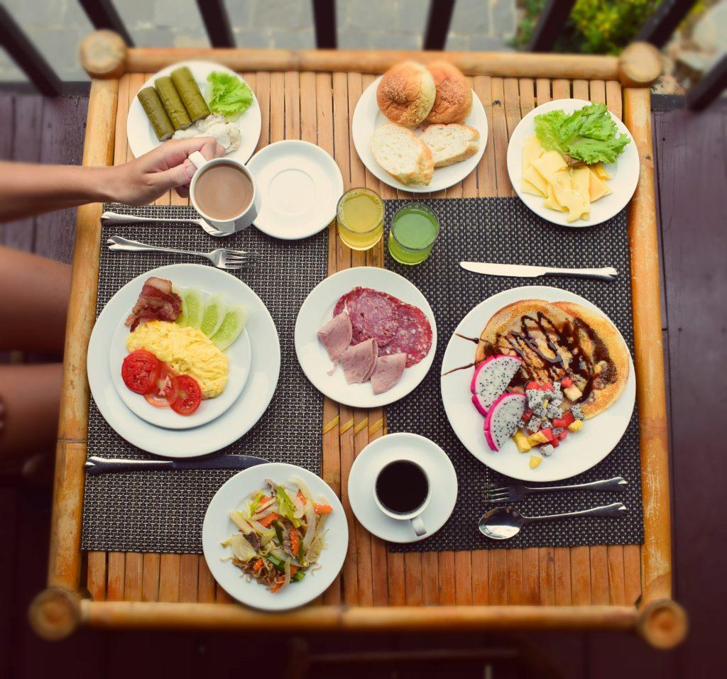 Breakfast at Mai Chau Ecolodge