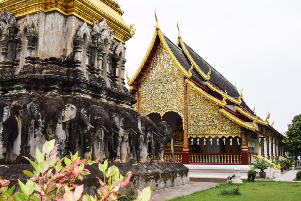 City Temple of Chiang Mai, Thailand