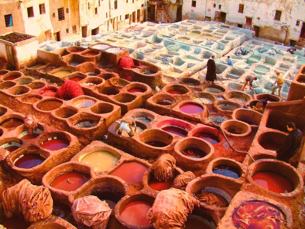 Market in Fez Morocco