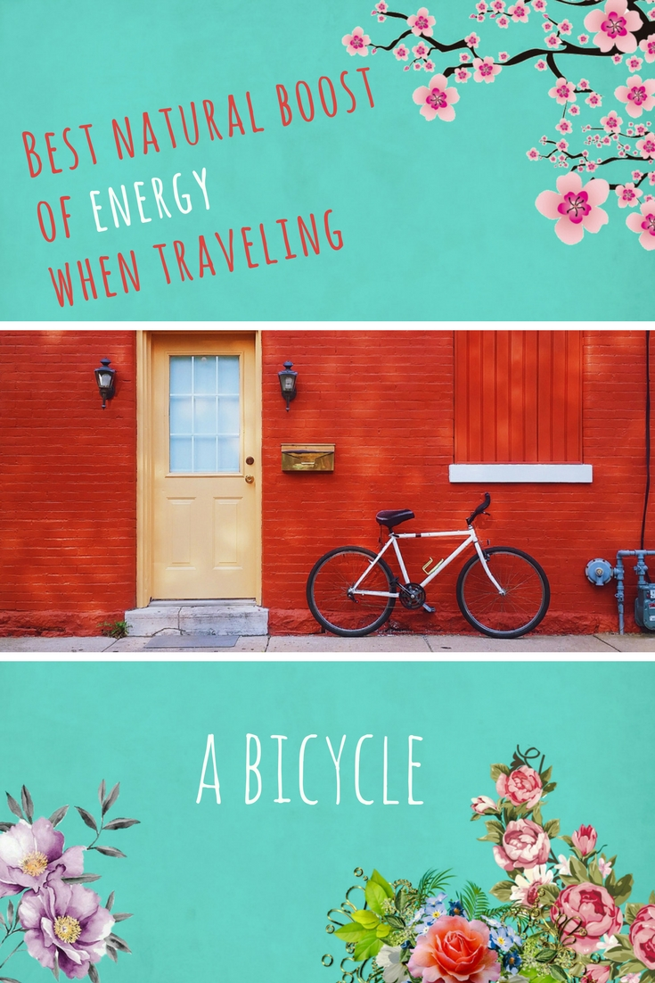 Best natural boost of energy when traveling - a bicycle