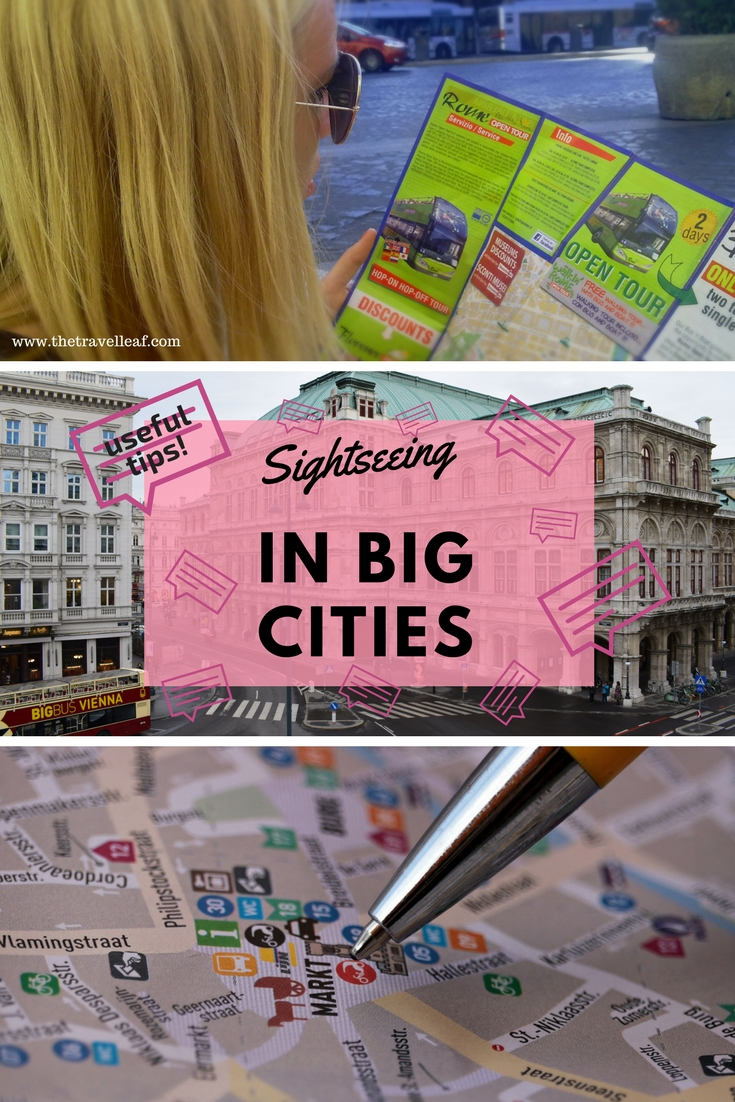 Sightseeing in big cities