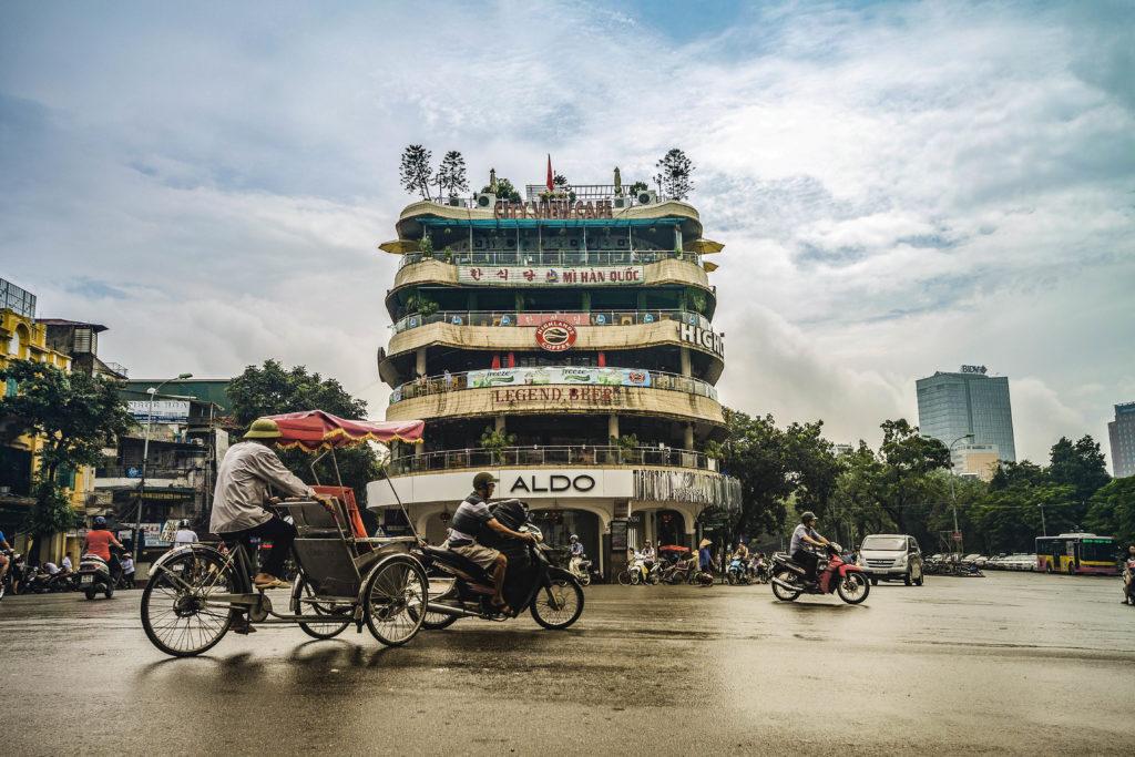 Hanoi street, Vietnam
