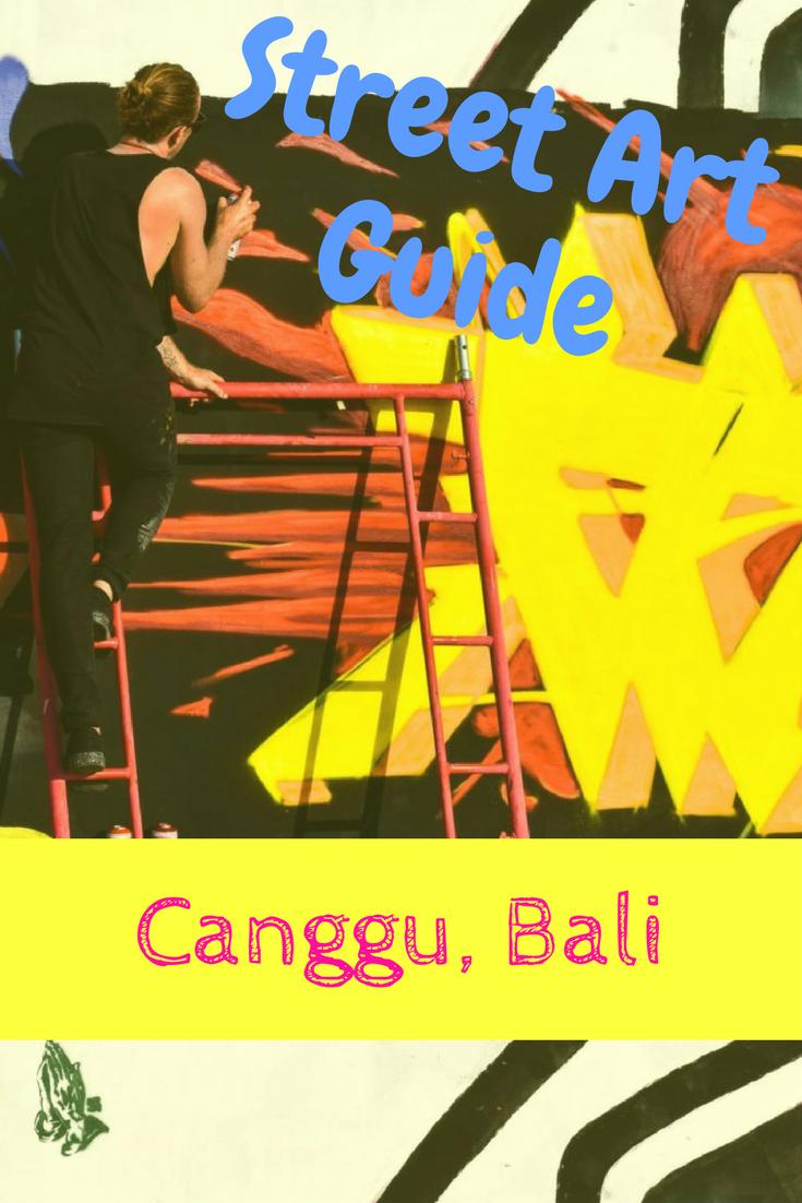 Street Art Guide to Canggu, Bali | The Travel Leaf