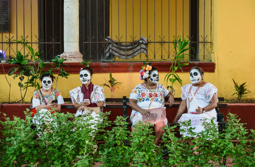 The Day of the Dead celebration in Merida, Mexico