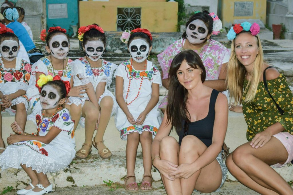 The Day of the Dead Children Masks