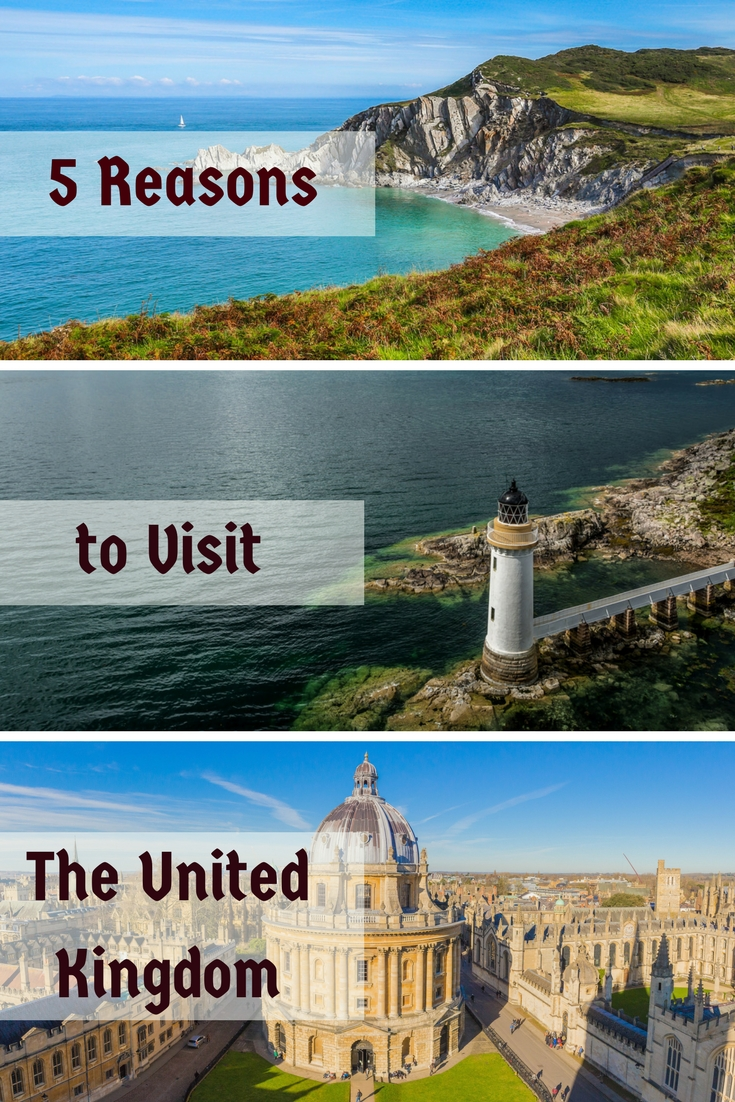 5 Reasons to Visit The United Kingdom