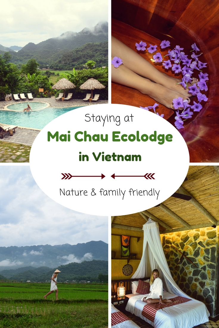 Staying at Mai Chau Ecolodge in Vietnam