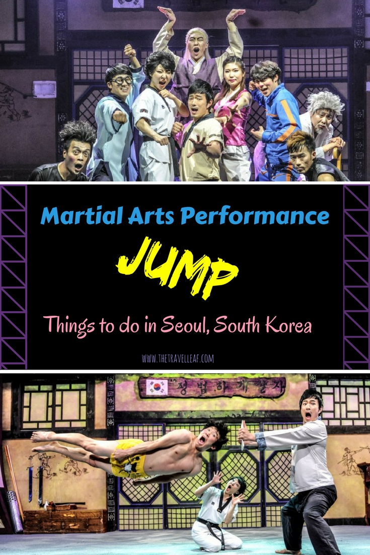 Things to do in Seoul, South Korea. Martial arts performance Jump