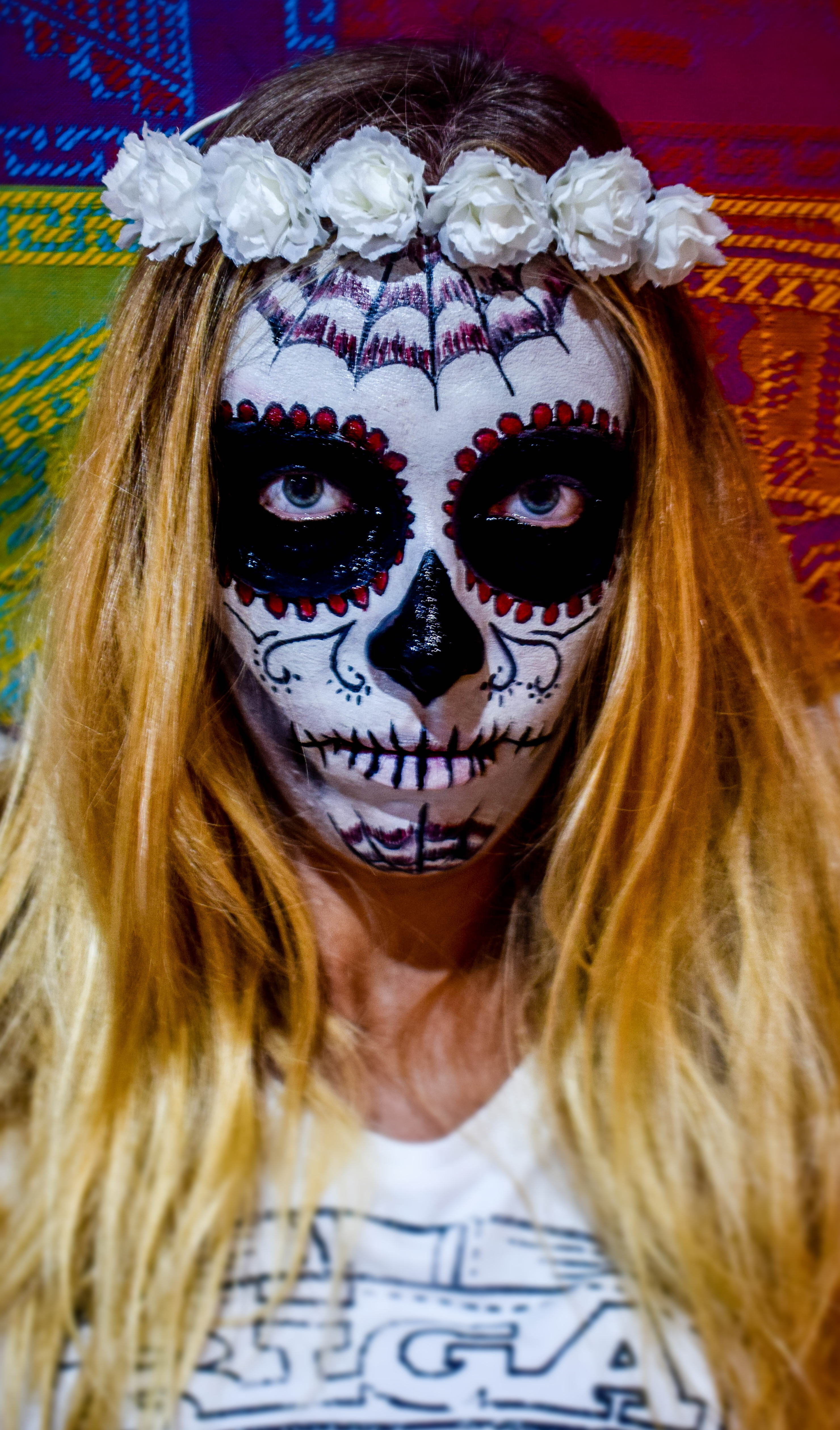 Quick & Easy Mexican Day of the Dead or Halloween Skull Mask Tutorial
