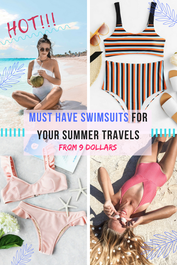 b6f95ae2fc Must have swimsuits from 9 dollars for your summer travels. Discover all  the trendy swimwear