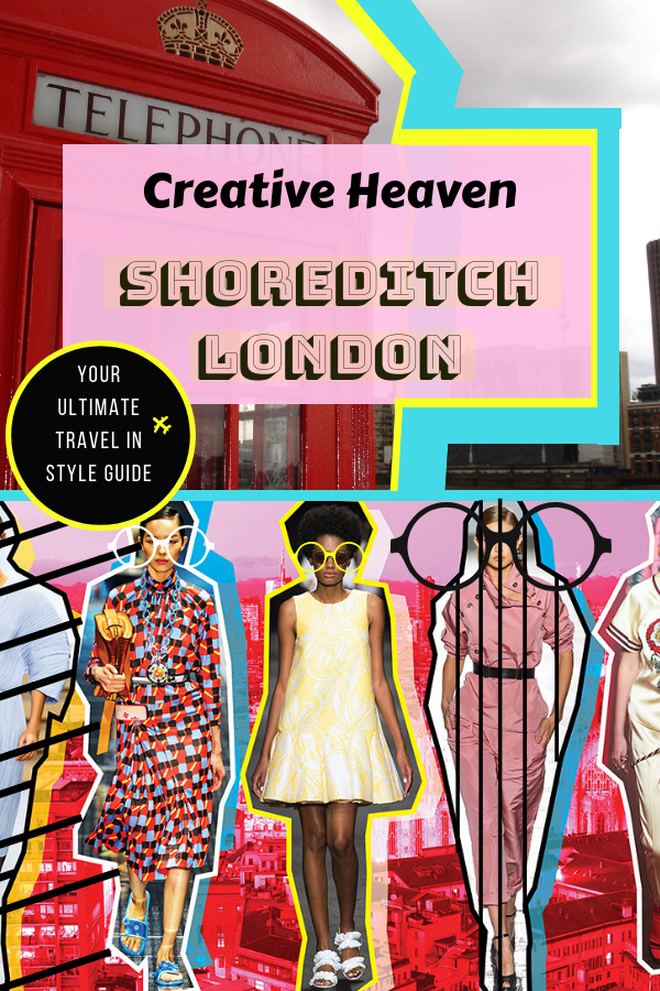 Discover the creative Heaven Shoreditch in London, United Kingdom - awesome Shoreditch street art, best restaurants, vintage boutique shops etc. It's the London fashion and style mecca during London Fashion Week & all year long. #London #Shoreditch #uk #lfw #londonfahsionweek