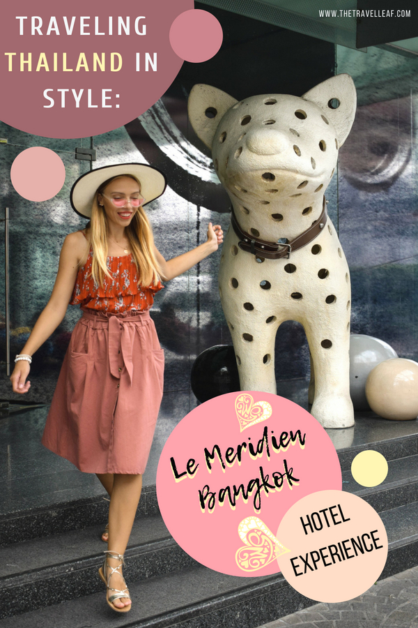 Looking for where to stay in Bangkok Thailand? Check out possibly the most stylish hotel of all - Le Meridien Bangkok. We love to find the best design, boutique and luxury hotels worldwide and this one in the top choice in Bangkok. Read more to find out why. #bangkok #thailand #hotels #lemeridien
