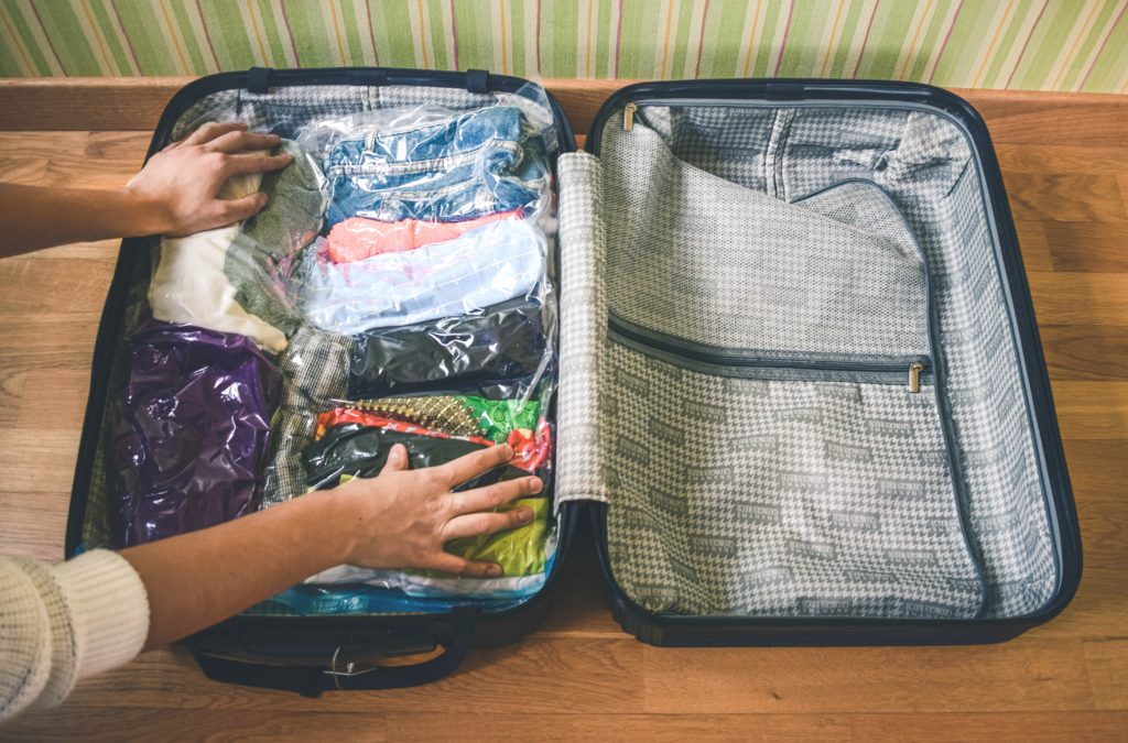 How to pack a suitcase efficiently