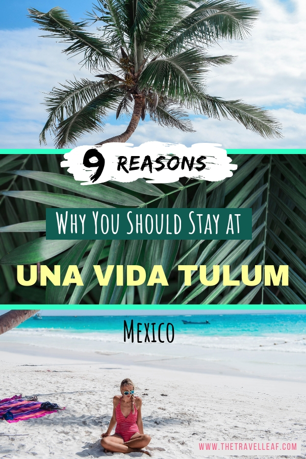 Traveling to Tulum Mexico soon? Discover the coolest boho style boutique hotel Una Vida Tulum to enjoy your Tulum beach days, cenote hoping and food experiences in style. We can safely say this Tulum hotel is a perfection. Check it out for yourself! #travel #tulum #mexico
