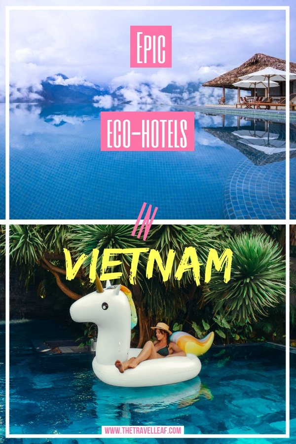 Do you support sustainable travel? Are you interest in Vietnam travel experiences to plan your own trip? Discover these epic Eco Hotels in Vietnam and choose the one that will make your Vietnam trip unforgettable. #Vietnam #travel #ecotourism #ecohotel