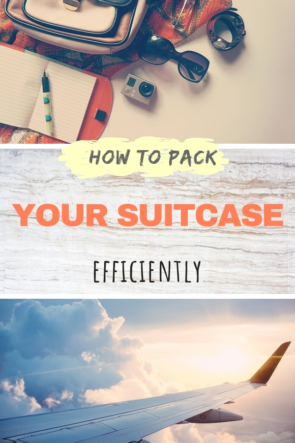 Going on a vacation, business trip or traveling long-term around the world? Discover these smart packing hacks and packing tips on how to pack a suitcase like a pro! Fit all you need in your carry-on suitcase or master the art of packing the large luggage. #travel #packing #luggage