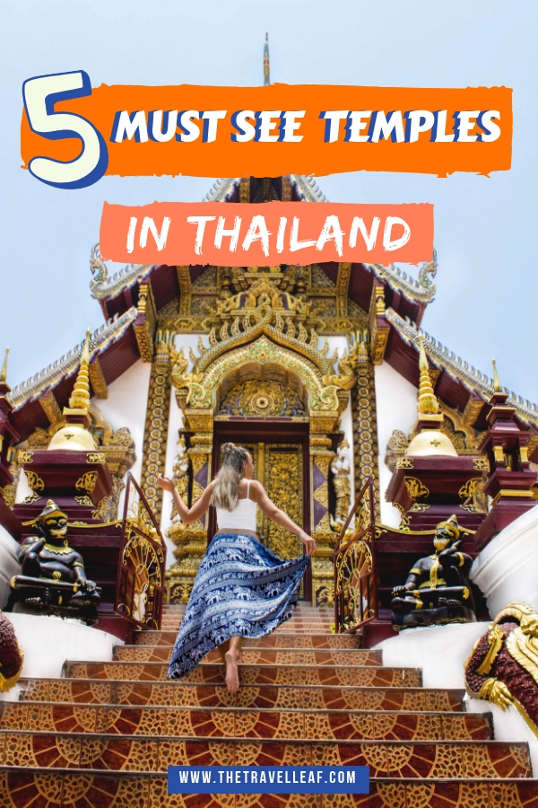 Discover these epic Thailand temples Bangkok, Chiang Mai, Chiang Rai, Krabi, and other places have to offer. Learn about Thai culture and make your trip unforgettable by reading this article! #Thailand #temples #travel