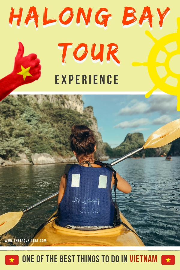 Looking to take a trip to Halong Bay Vietnam and take the famous Halong Bay cruise? We've got all you need to know right here - which tours to take, what to expect, and overall junk boat, kayak, cave visiting tips and more. #Vietnam #HalongBay #cruise #travel