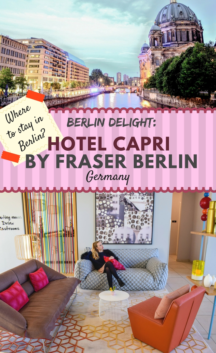Berlin delight: Hotel Capri by Fraser Berlin, Germany