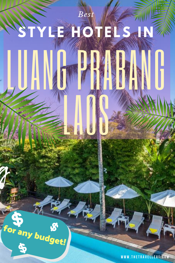 Looking for where to stay in Luang Prabang Laos? Finding the best Luang Prabang hotel luxury or budget isn't an easy task. So we've done it for you (and ourselves)! Find here the most stylish and budget-friendly hotels, resorts and guesthouses with good WiFi, pool etc #luangprabang #laos #travel