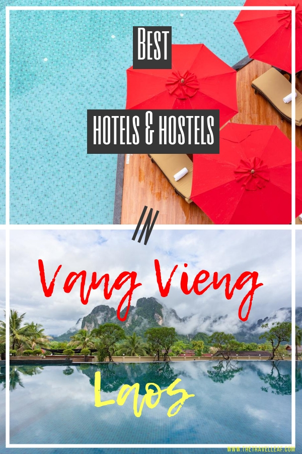 Are you going to Vang Vieng Laos for some tubing, river fun or adventure out in nature? Staying at one of the coolest Vang Vieng hotels will definitely add to the fun. Discover them all here! #vangvieng #laos #hotel