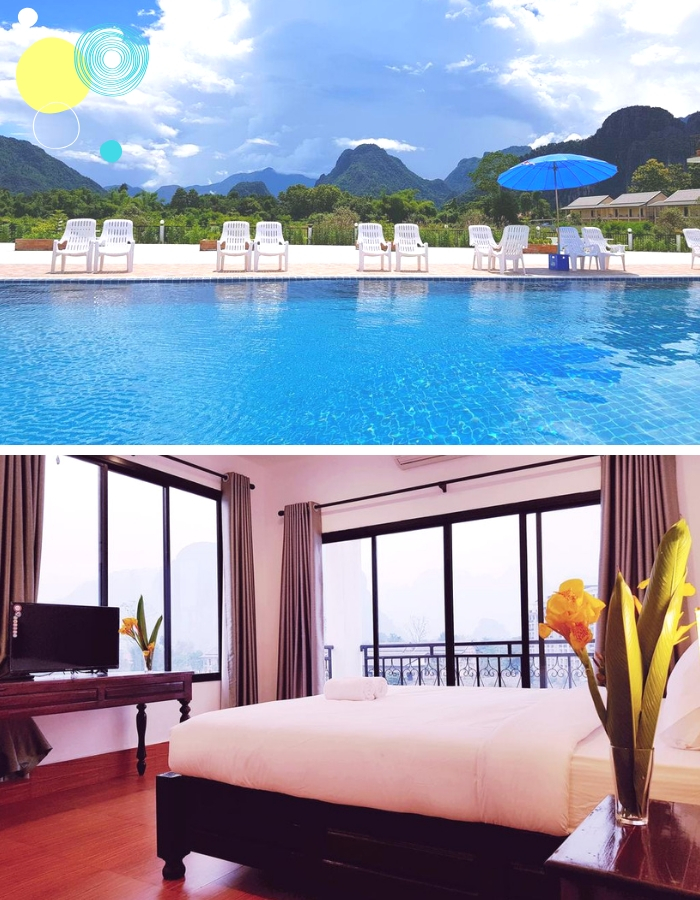Find your perfect style hotel in Vang Vieng Laos for any budget