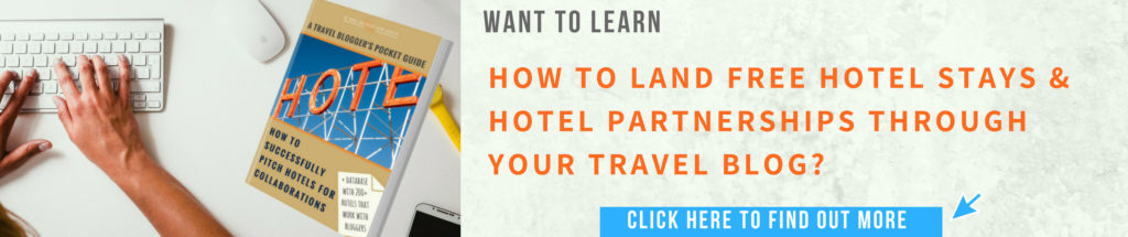How to pitch sponsored travel