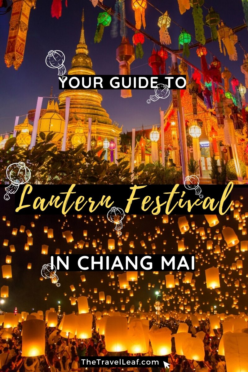 Discover the magical Yi Peng Lantern Festival in Chiang Mai Thailand. If you're planning your trip to Northern Thailand in November, definitely come to Chiang Mai for the Lantern Festival. And read here about the most important things you need to know about it. #Thailand #travel #ChiangMai #YiPeng #LoyKrathong #LanternFestival