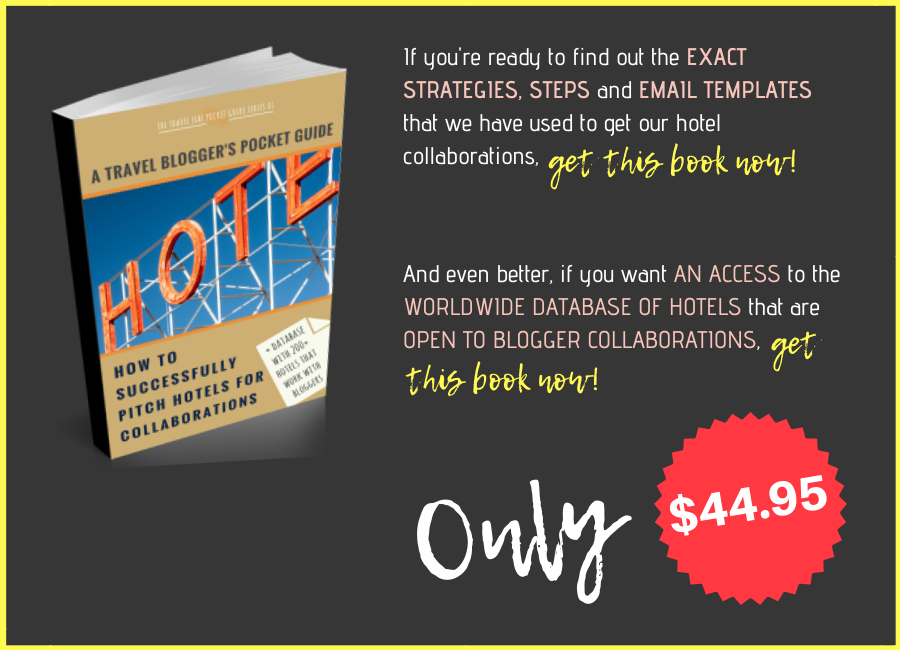 Database of Hotels That Work With Bloggers & A Guide How to Pitch Hotels