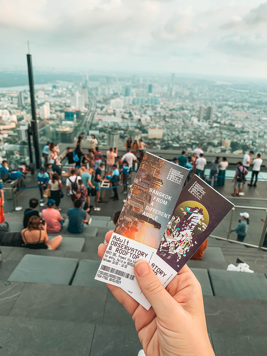 King Power Mahanakhon Skywalk: standing on a glass tray sticking out of a skyscraper in Bangkok (+video)