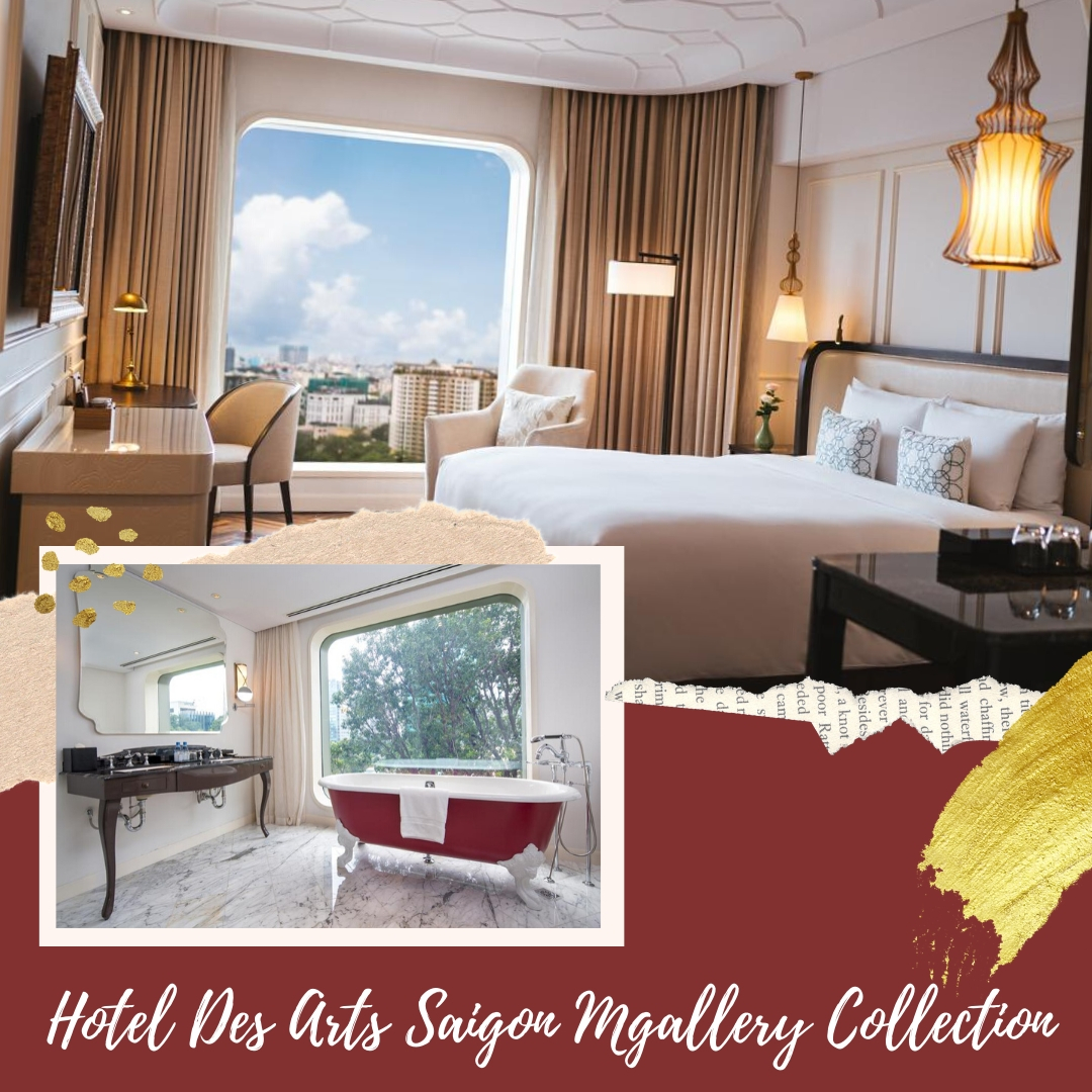Hotel Des Arts Saigon Mgallery Collection - Stylish hotels where to stay in Ho Chi Minh, Vietnam for every budget