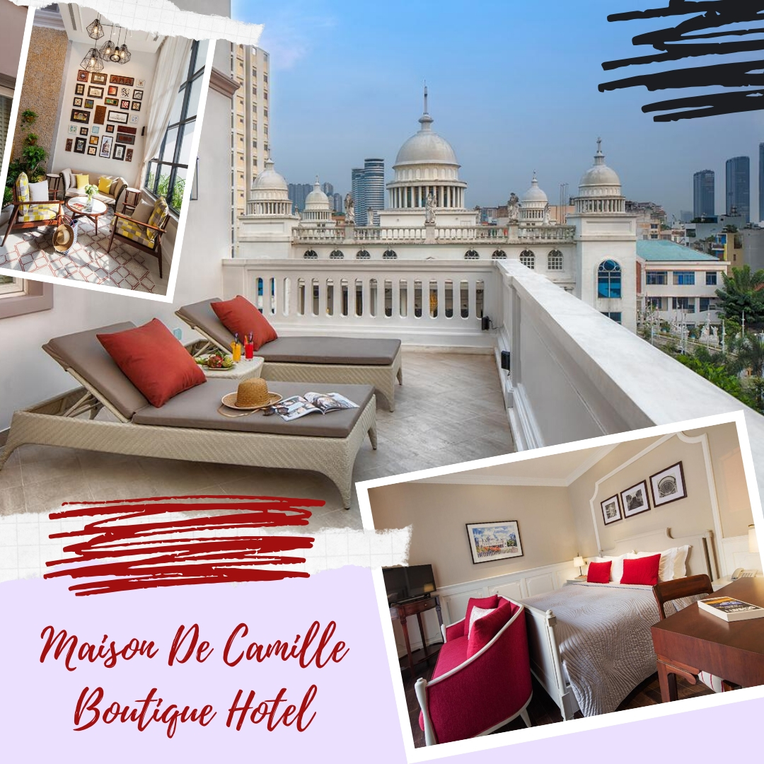 Maison De Camille Boutique Hotel - Exciting boutique hotels in Ho Chi Minh city