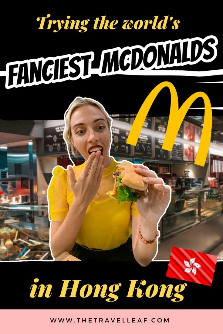 McDonald's Next Hong Kong