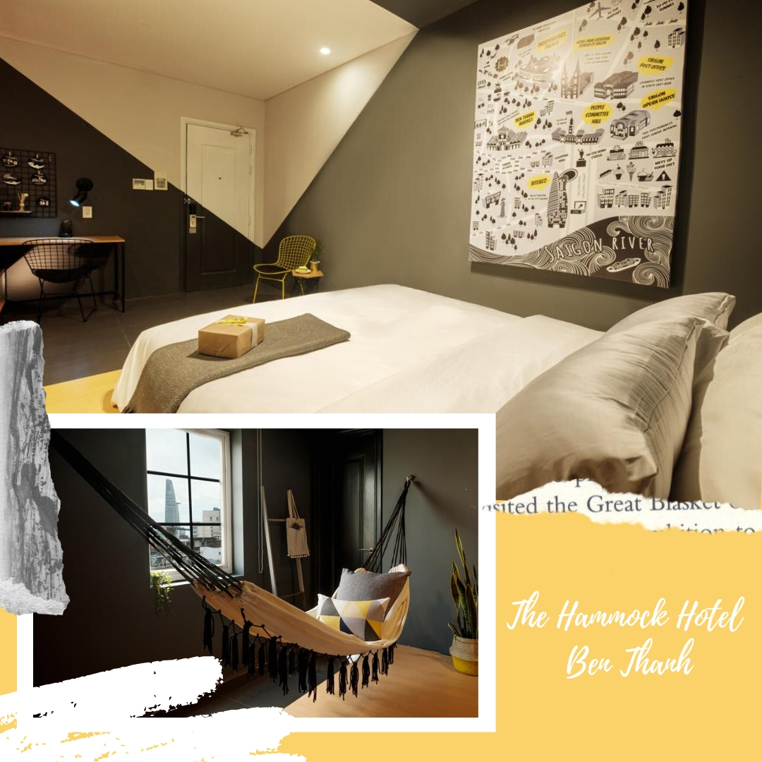Best mid-range hotels in Ho Chi Minh - The Hammock Hotel Ben Thanh