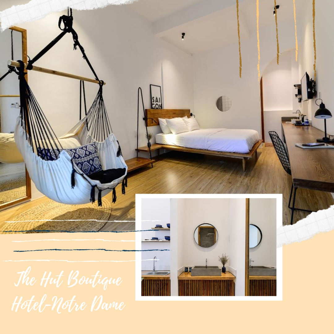 Best cheap hotels in Ho Chi Minh - The Hut Boutique Hotel-Notre Dame