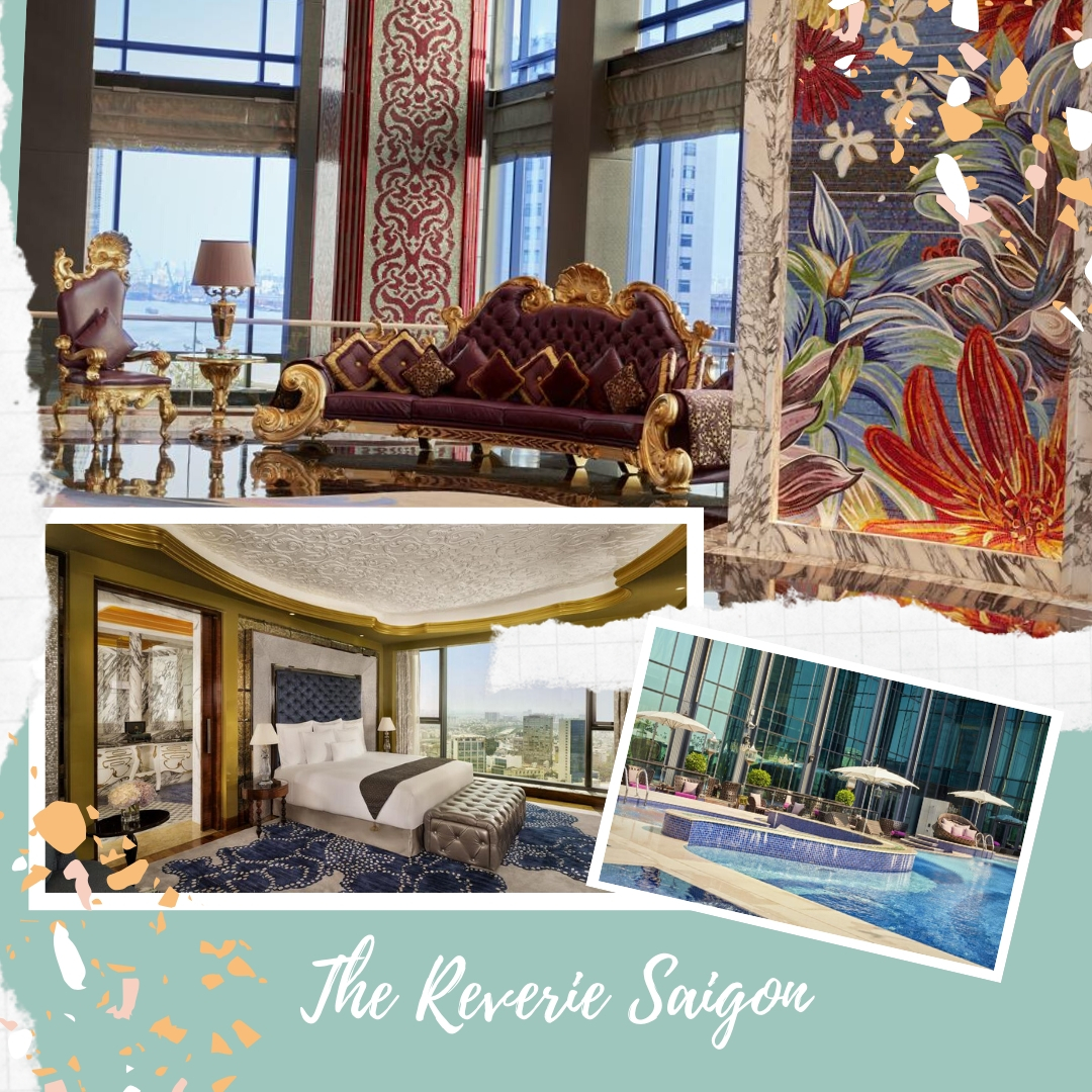 Best luxury hotels in Ho Chi Minh Vietnam - The Reverie Saigon